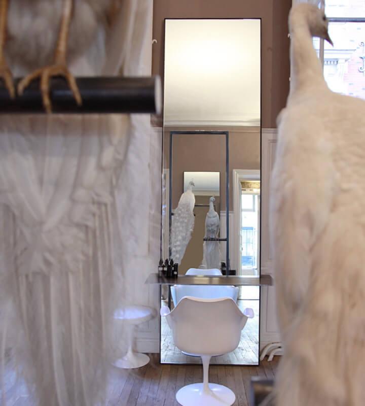 Intérieur Salon David Mallett Notre-Dame des Victoires