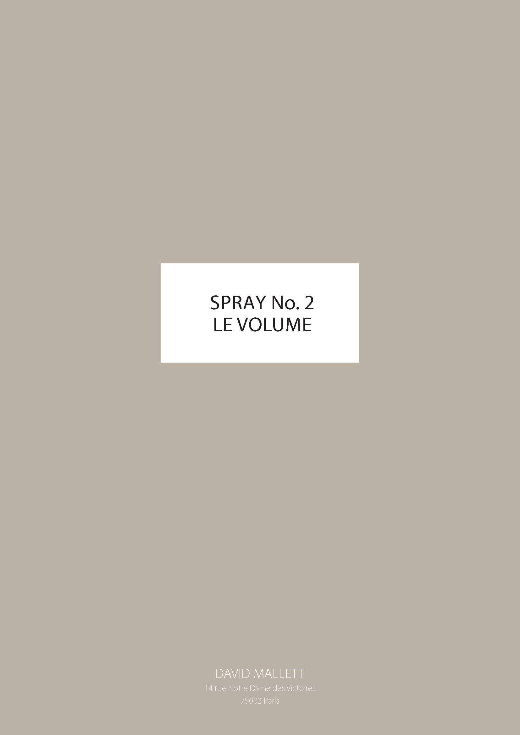 Spray No.2 LE VOLUME ENG