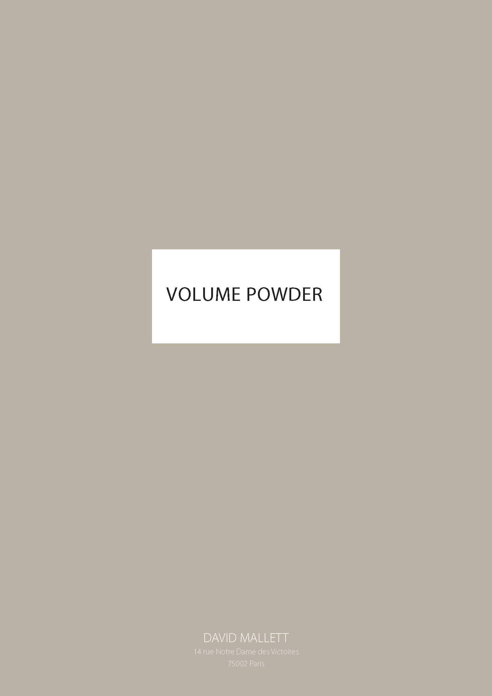 Volume Powder FR