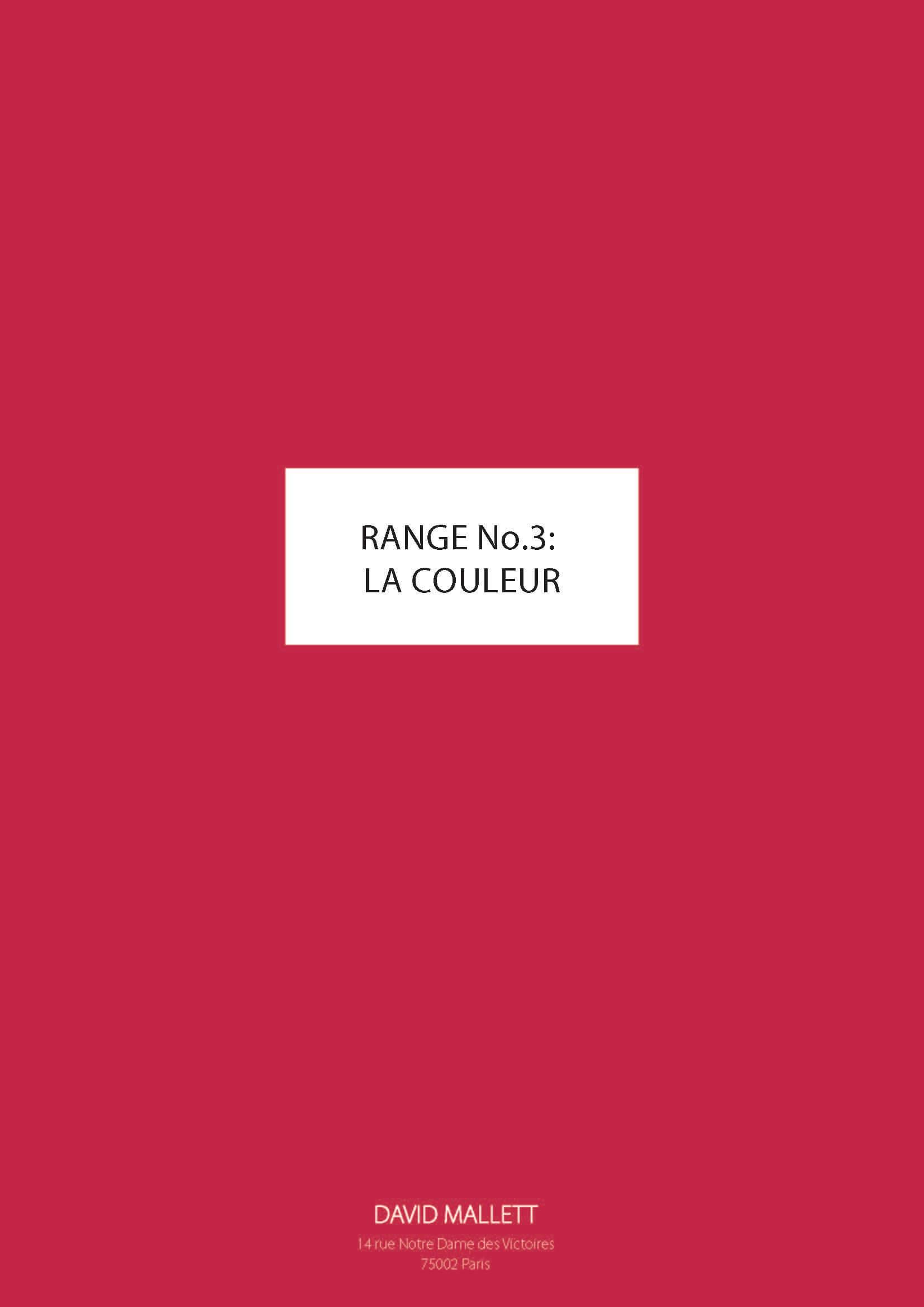 Gamme No.3 LA COULEUR FR